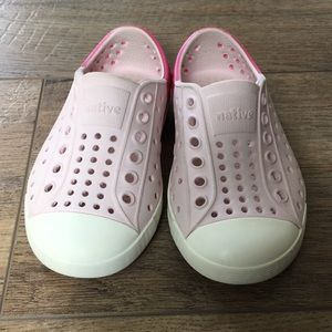 Pink Native Shoes